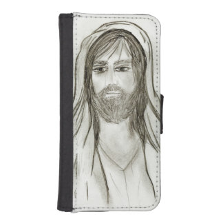 A Robed Jesus iPhone SE/5/5s Wallet Case