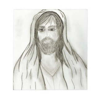 A Robed Jesus Notepad