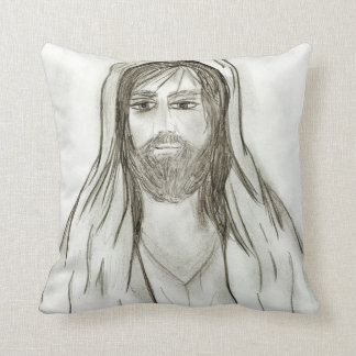 A Robed Jesus Throw Pillow