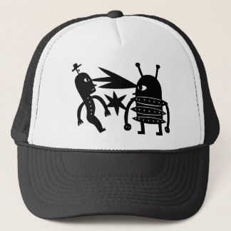 A Robot From Mars Trucker Hat