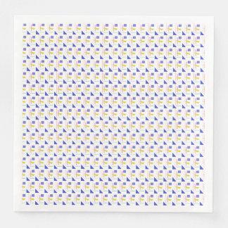 A Robot's Smile Paper Napkin