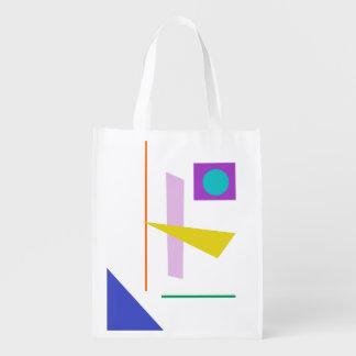 A Robot's Smile Reusable Grocery Bag