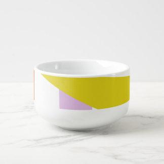 A Robot's Smile Soup Mug