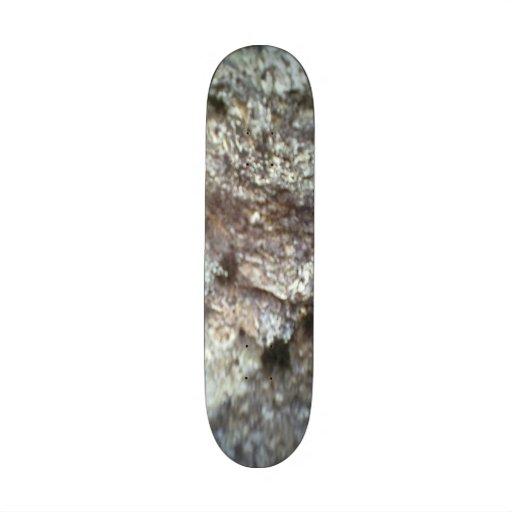 A Rock Skate Deck