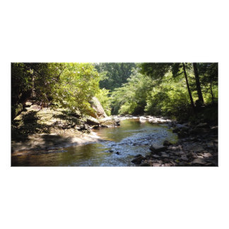 A Rocky Creek Personalized Photo Card