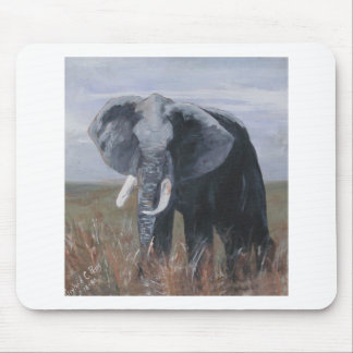 """A Rogue Elephant"" Mousepad"