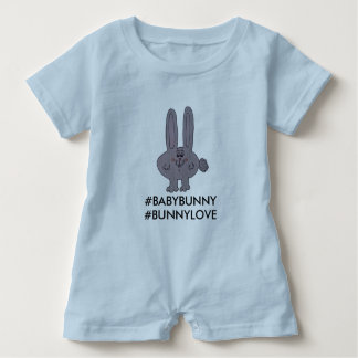 "A romper for your ""Baby Bunny"""