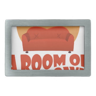 A Room Of One's Own Day - Appreciation Day Belt Buckle