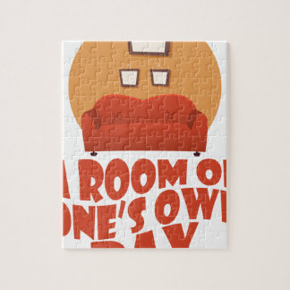 A Room Of One's Own Day - Appreciation Day Jigsaw Puzzle