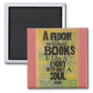 A Room Without Books Magnet