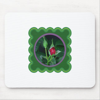 A rose bud for you my love Flower Floral 100 gifts Mouse Pad