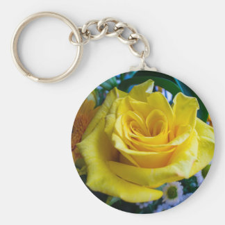 A rose by any other name keychain