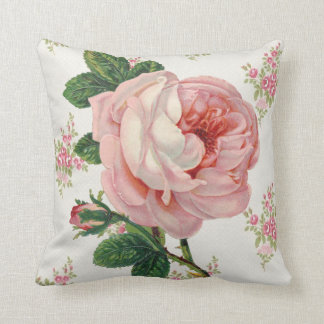 A Rose for a Rose Throw Pillow