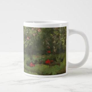 A Rose Garden Large Coffee Mug