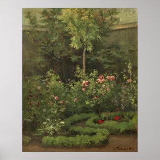 A Rose Garden Poster