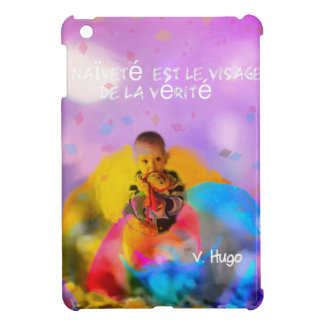 A rose lodges a child in spring iPad mini cases