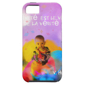 A rose lodges a child in spring iPhone 5 case
