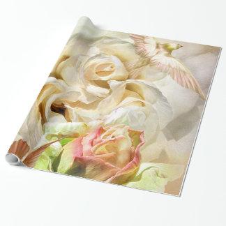 A Rose Named Elvis Art Gift Wrap