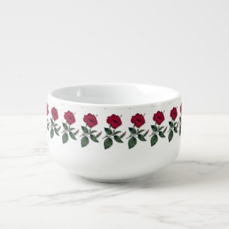 A row of Hibiscus Soup Mug