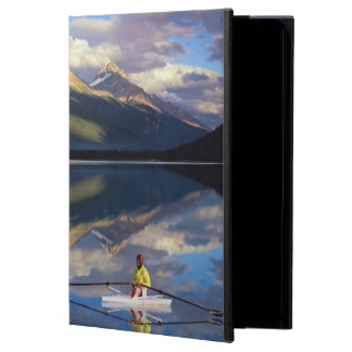 A rower on Banff Lake in the Canada MR) Case For iPad Air
