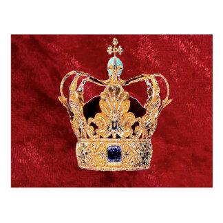 A Royal Crown Postcard