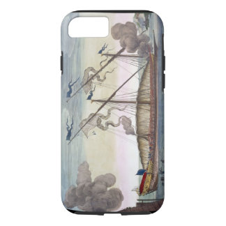 A Royal Galley (Spanish or Portuguese) rowed by sl iPhone 7 Case