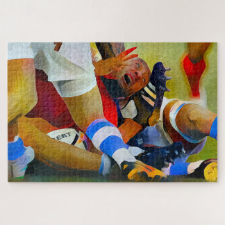 A Rucking Good Rugby Jigsaw Puzzle, 1014 pieces Jigsaw Puzzle
