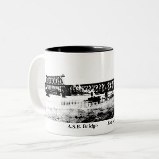 A.S.B. drinking vessel Two-Tone Coffee Mug