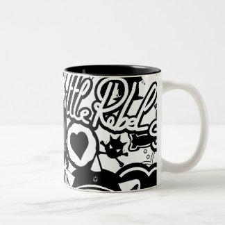 A.S.D Pattern Coffee Mugs