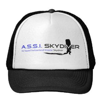 A.S.S.I. Skydiver Cap Trucker Hat