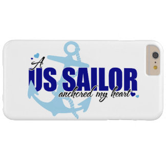 A Sailor Anchored My Heart Barely There iPhone 6 Plus Case