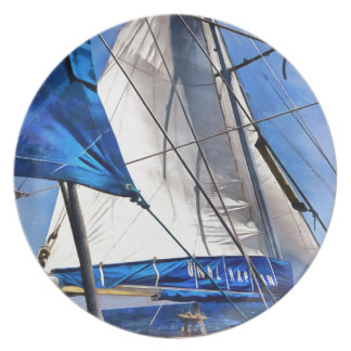 A Sailor Is An Artist And His Medium The Wind Party Plates