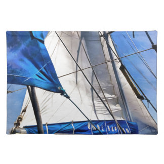 A Sailor Is An Artist And His Medium The Wind Placemat