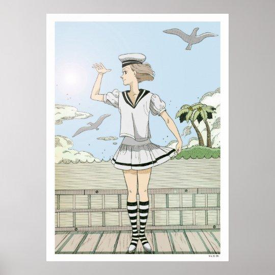 A sailor poster