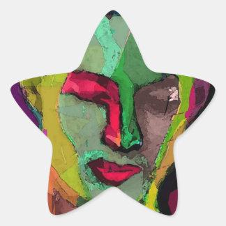 A Sainted Devil Star Sticker