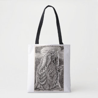 A saintly life is a wasted life tote bag