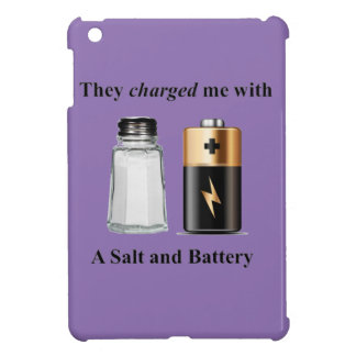 A Salt and Battery Assault and Battery iPad Mini Covers