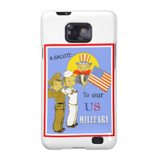 A Salute To Our US Military Samsung Galaxy 2S Case Galaxy S2 Case