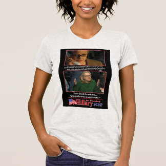 A Sarcastic Look at Hillary for President 2016 T-Shirt