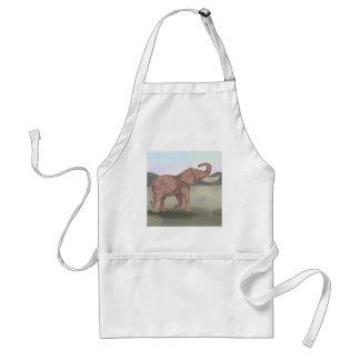 A savannah elephant standard apron