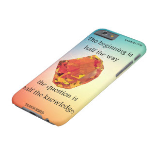 A saying with design please please read it below. barely there iPhone 6 case