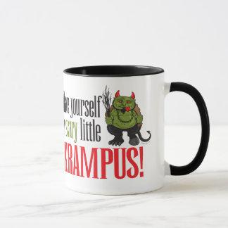 A scary little Krampus Mug