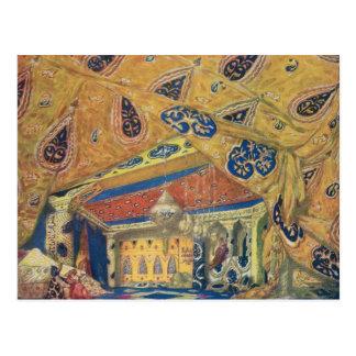 A Scheherazade Salon Postcard