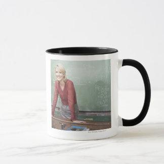 A school teacher mug