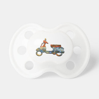 A SCOOTING ALONG PACIFIER