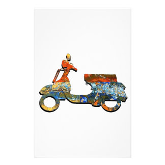 A SCOOTING ALONG STATIONERY