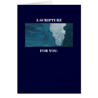 A SCRIPTURE FOR YOU CARD