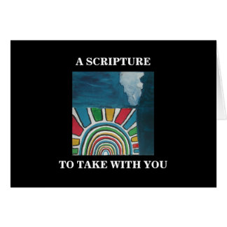A SCRIPTURE TO TAKE WITH YOU CARD