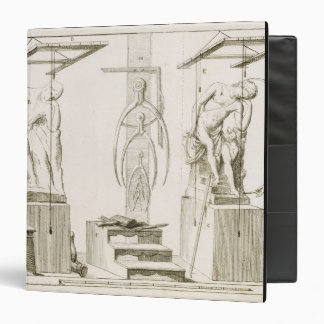 A Sculptor's Studio, c.1800 (engraving) Vinyl Binders
