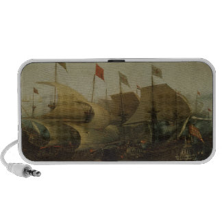A Sea Action possibly the Battle of Cadiz 1596 Mp3 Speaker
